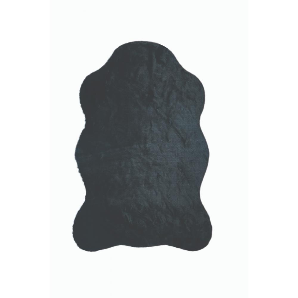 Döpland Tavşan Tüyü Vakumlu Post Siyah
