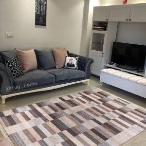 Mozaik Kahverengi Desen 4m2 Kaymaz Halı